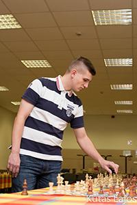 Vertetics Attila - Arrabona Sakkiskola Közhasznú Egyesület alelnöke, nemzetközi mesteri címmel rendelkező sakkozó